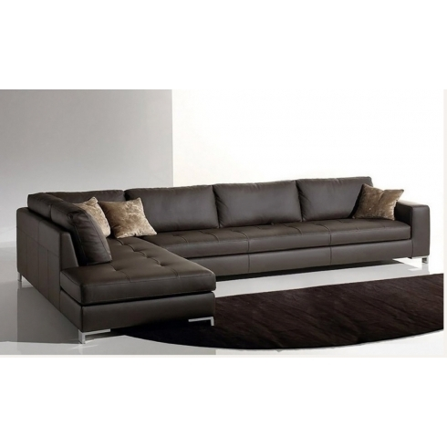 Modern Chaise Longue Sofa 2 3 4 5 Seater Uk Leather Fabric Intended For Sofa Corner Units (#7 of 15)