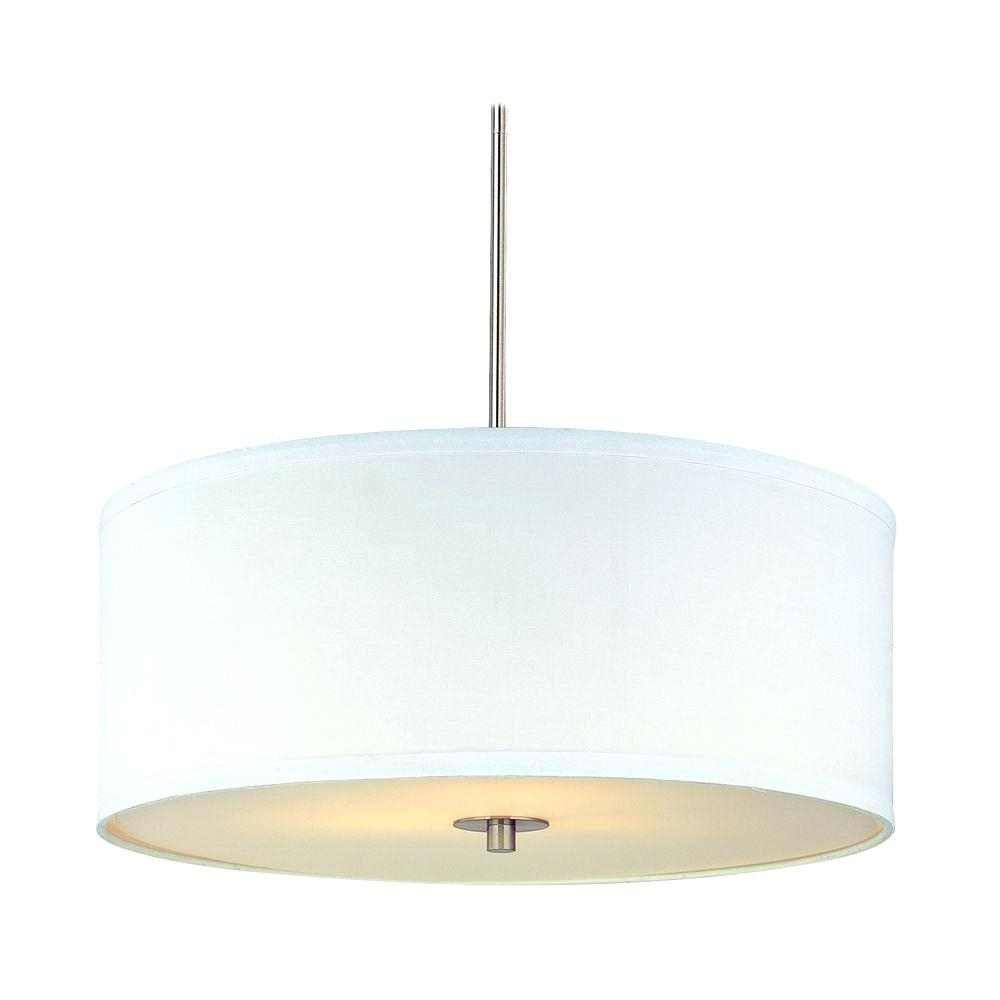 Modern Chandelier Light Eight Light Antique Brass Scalloped Silk Regarding Modern White Chandelier (#8 of 12)