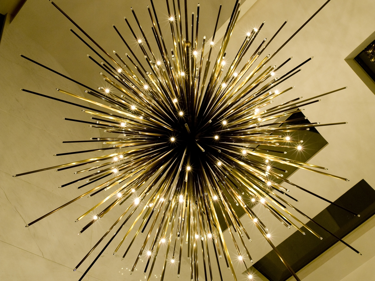 Modern Chandelier Lighting 50 50 Hanging Crystal Linear With Ultra Modern Chandeliers (#6 of 12)