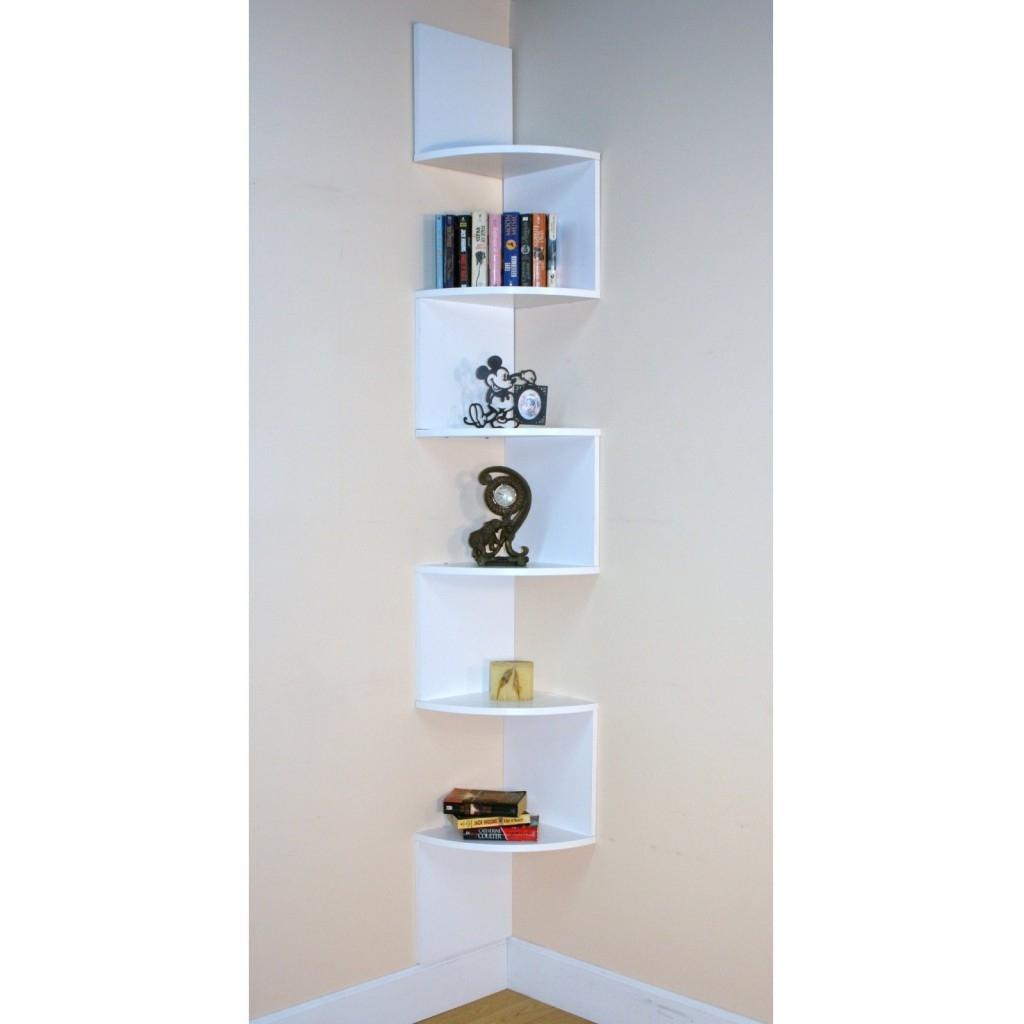 Modern Corner Shelves Intended For Large Glass Corner Shelves (View 10 of 12)