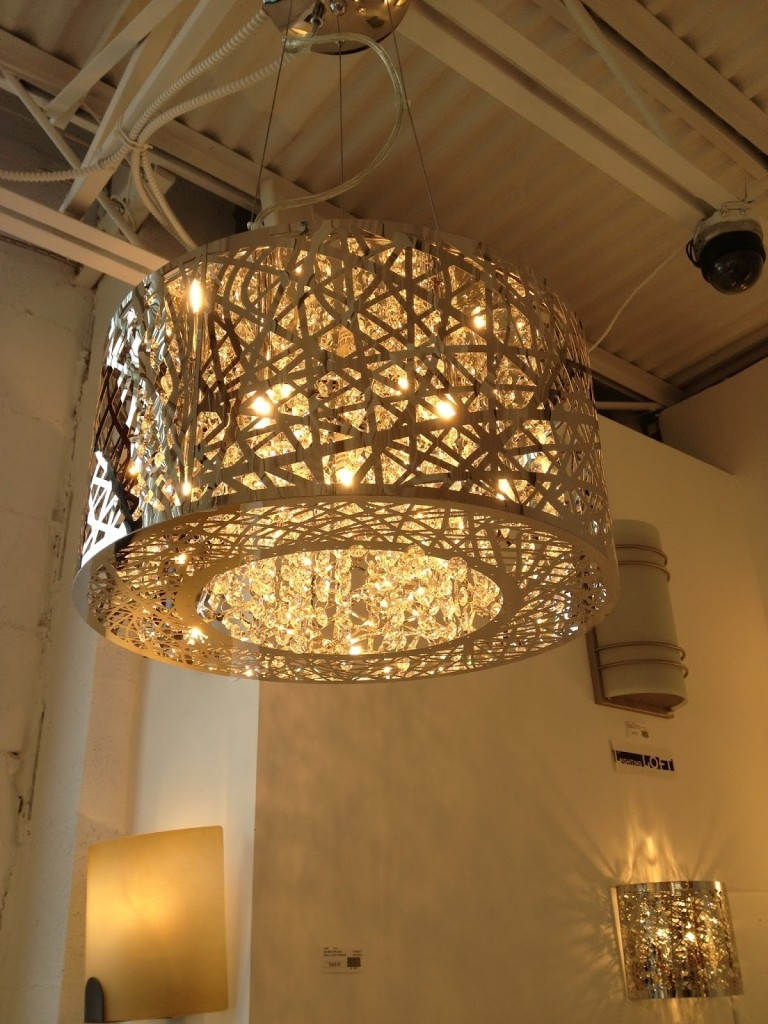 Modern Glass Chandeliers Uk Within Contemporary Large Chandeliers (#10 of 12)