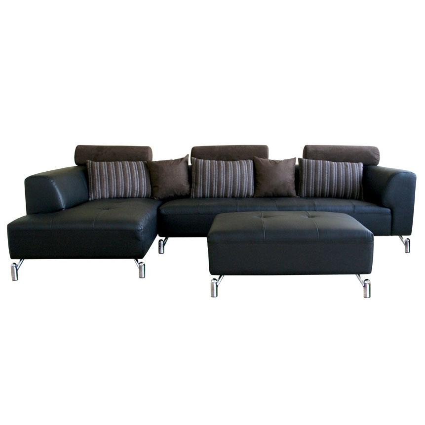 Modern Leather Sectional Sofa Throughout Sofas And Sectionals (#7 of 15)
