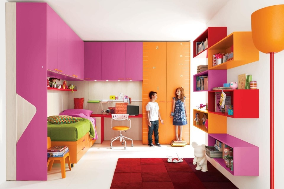 Modern Modular Transforming Kids Furniture 13 Designs Urbanist Inside Childrens Bedroom Wardrobes (#12 of 15)