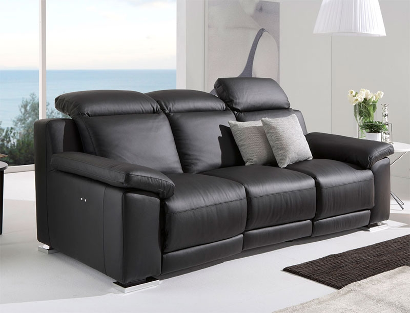 Modern Reclining Sofa With Modern Reclining Leather Sofas (#9 of 15)