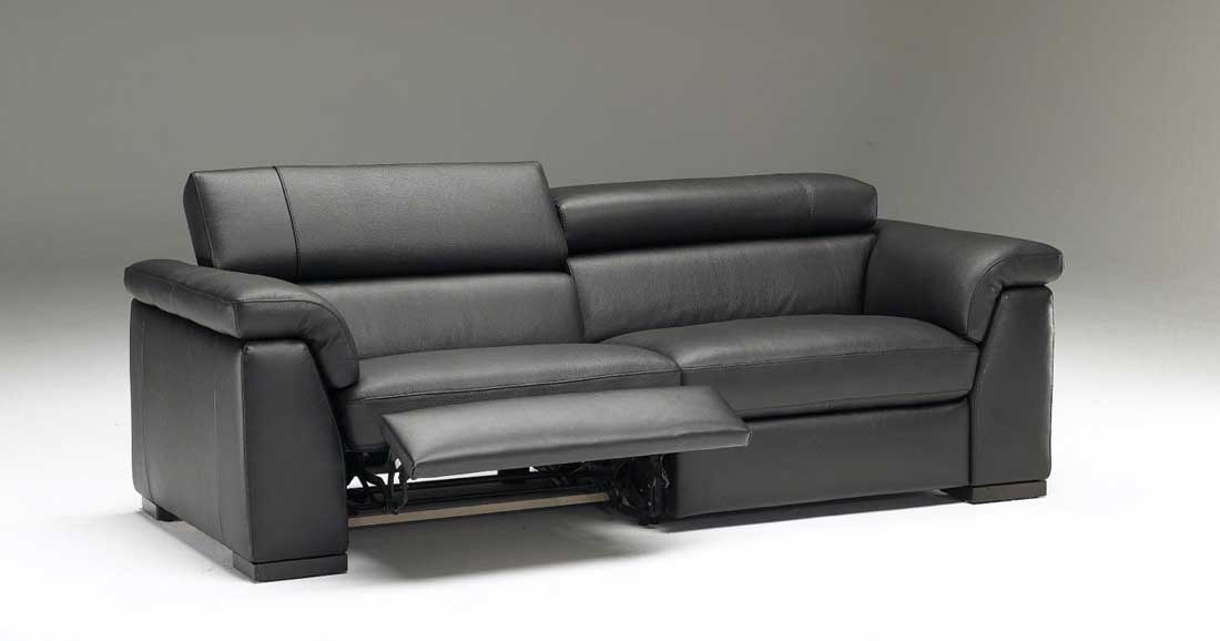 Modern Reclining Sofas Sofa E Throughout Ideas Intended For Modern Reclining Leather Sofas (#10 of 15)