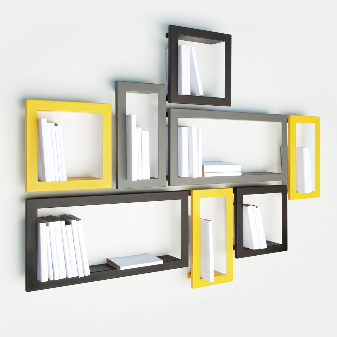 Modern Wall Mounted Shelves Throughout Wall Mounted Shelves (#3 of 12)