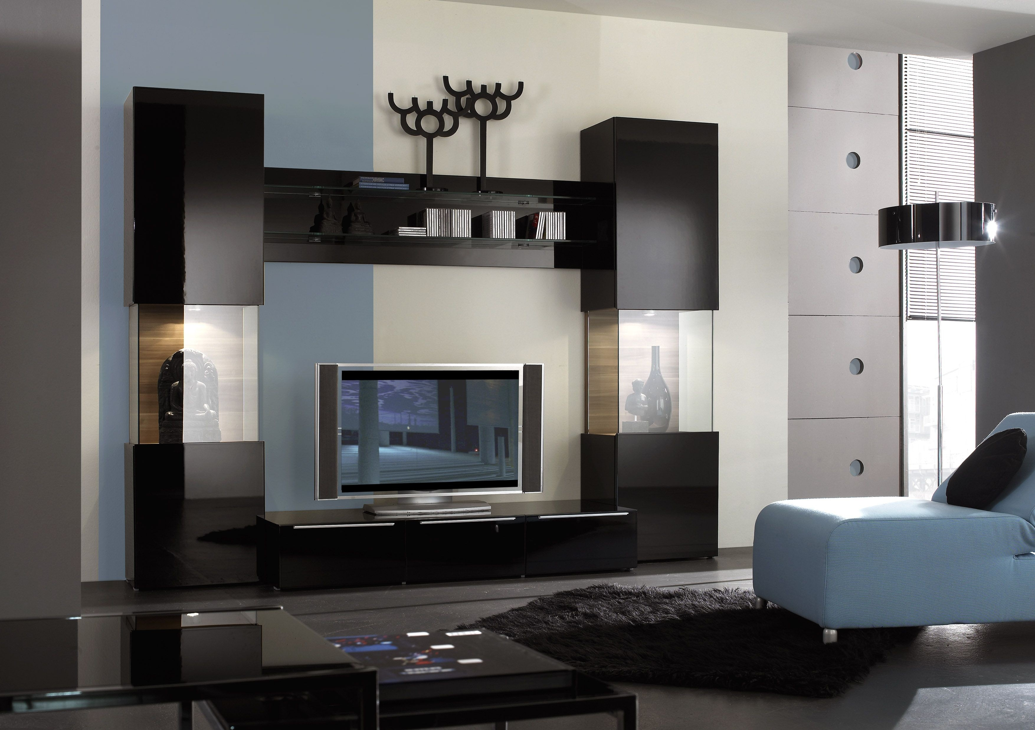 Modern Wall Units Shoise With Regard To Modern Wall Units (#12 of 15)