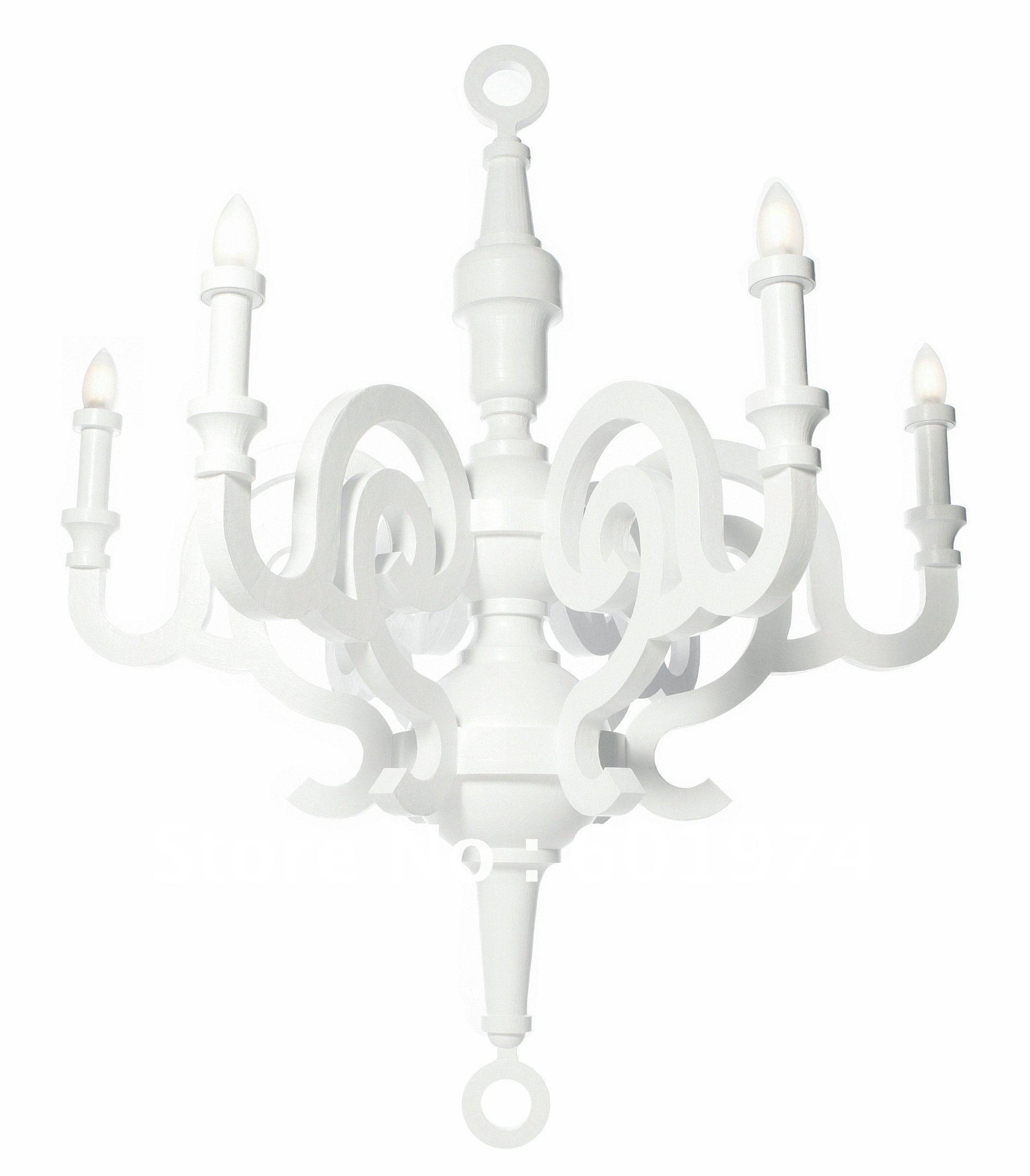 Modern White Chandelier Within Modern White Chandelier (#12 of 12)