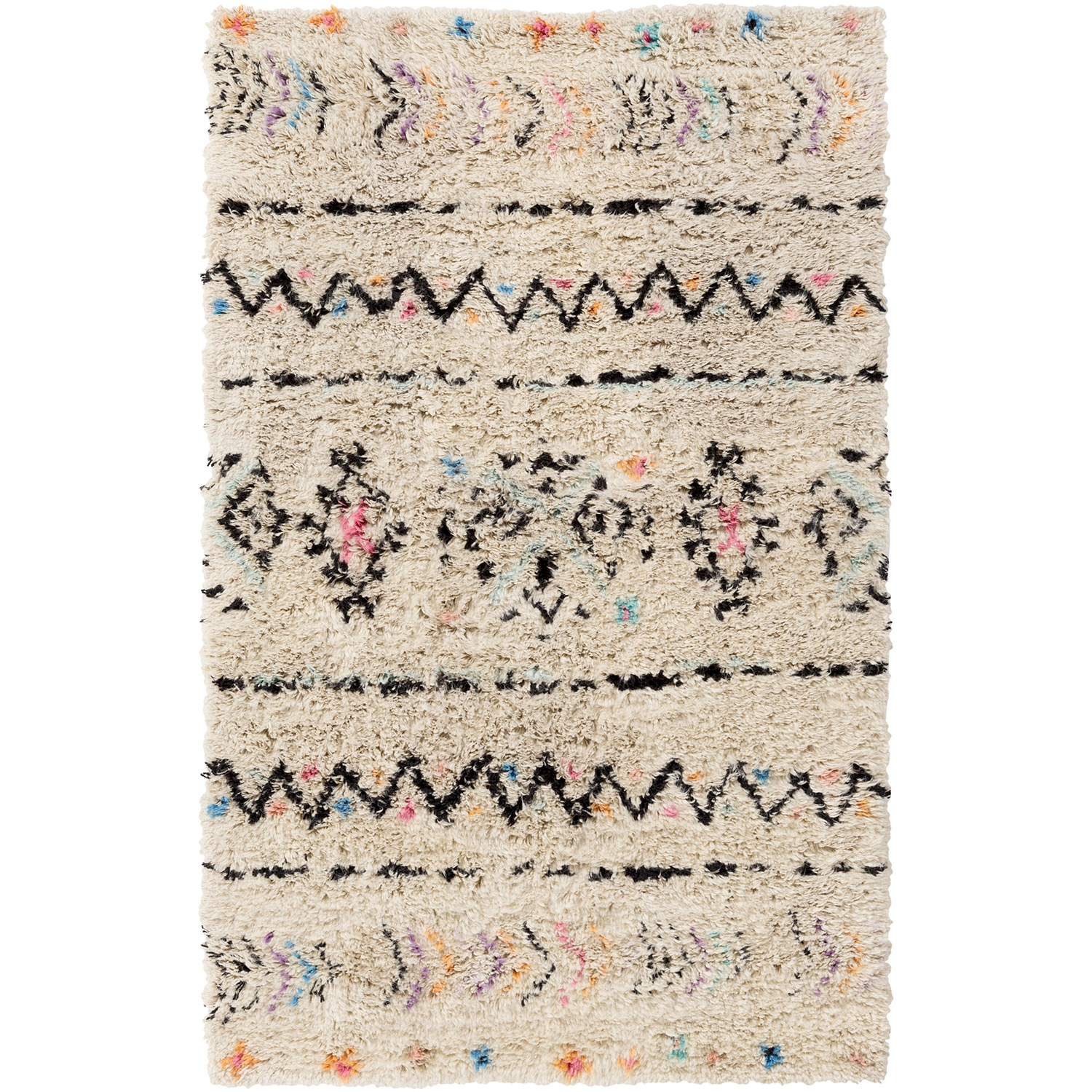 Modern Wool Rugs Wool Geometric Rugs Wool Area Rugs Zinc Door Inside Wool Area Rugs 5× (#10 of 15)