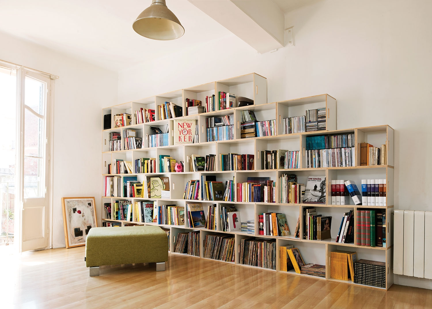 Modular Bookcases Systems Wall Shelving Systems Library Book In Book Shelving Systems (#13 of 15)