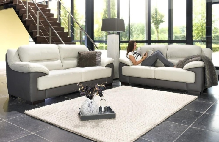 Monda Couch Create Your Own Two Tone Couch In Fabric Of Leather Throughout Two Tone Sofas (View 4 of 15)