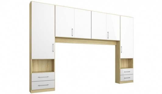 Moreno Overbed Unit Bensons For Beds Inside Overbed Wardrobes (View 5 of 15)