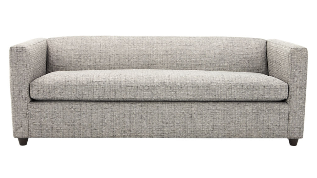Movie Salt And Pepper Queen Sleeper Sofa Cb2 Throughout Sofa Sleepers Queen Size (#7 of 15)