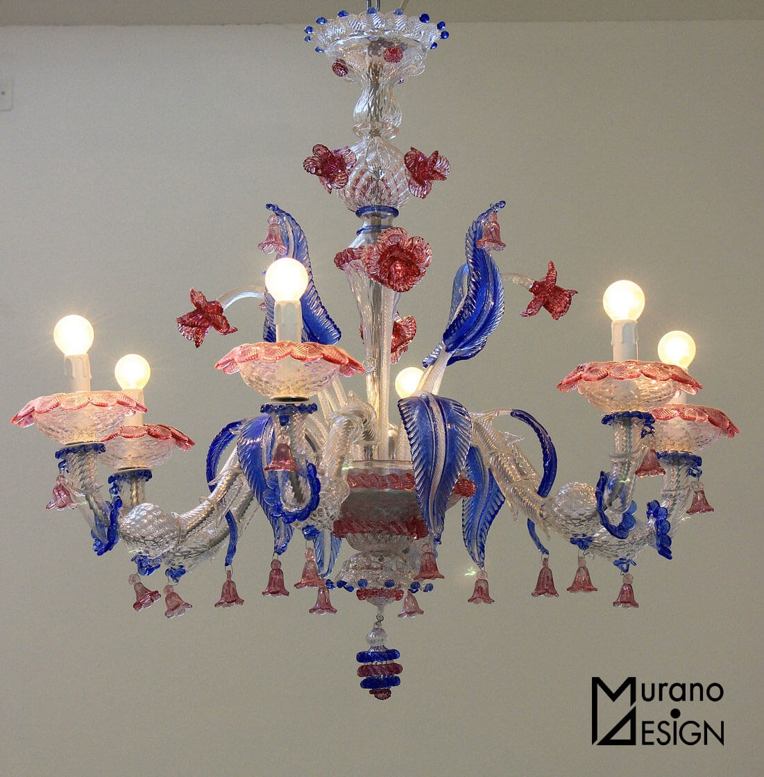 Murano Glass 5 Tips To Recognize The Real One Inside Murano Chandelier Replica (#5 of 12)