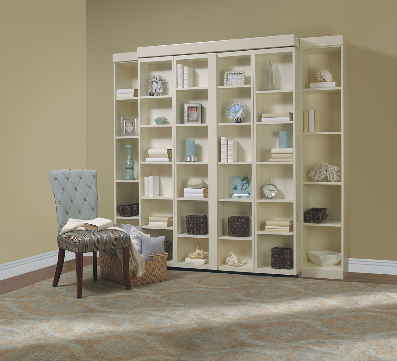 Murphy And Panel Beds Folding Wall Beds More Space Place For Bifold Bookcase (#12 of 15)