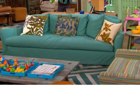 My Slipcovered Sectional And A Giveaway Tatertots And Jello In Teal Sofa Slipcovers (#8 of 15)