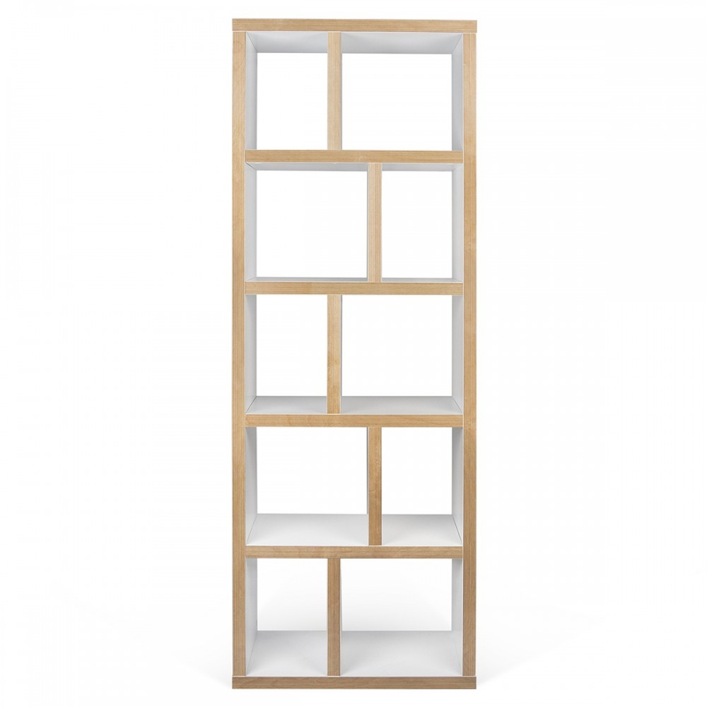 Narrow Shelf Unit Dakota Mango Wood 2 Hole Cube Shelving Unit For Very Narrow Shelving Unit (#9 of 15)