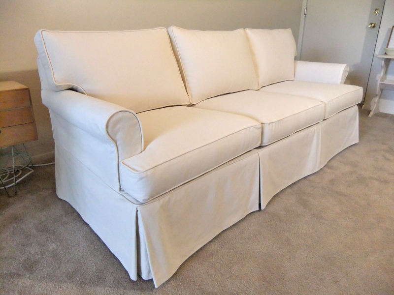 Popular Photo of Slipcovers Sofas