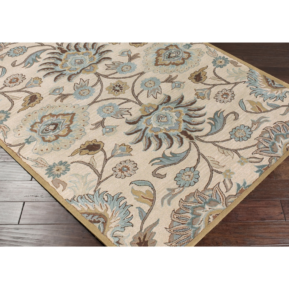 Navy Area Rug 810 Roselawnlutheran With Regard To Hand Tufted Wool Area Rugs (#8 of 15)