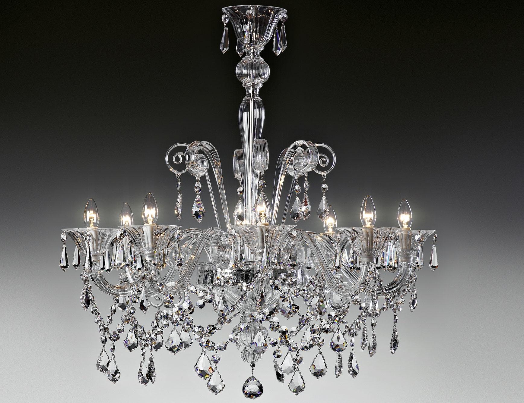 12 inspirations of modern italian chandeliers nella vetrina lulu 9016 8 modern italian chandelier clear murano glass inside modern italian chandeliers arubaitofo Gallery