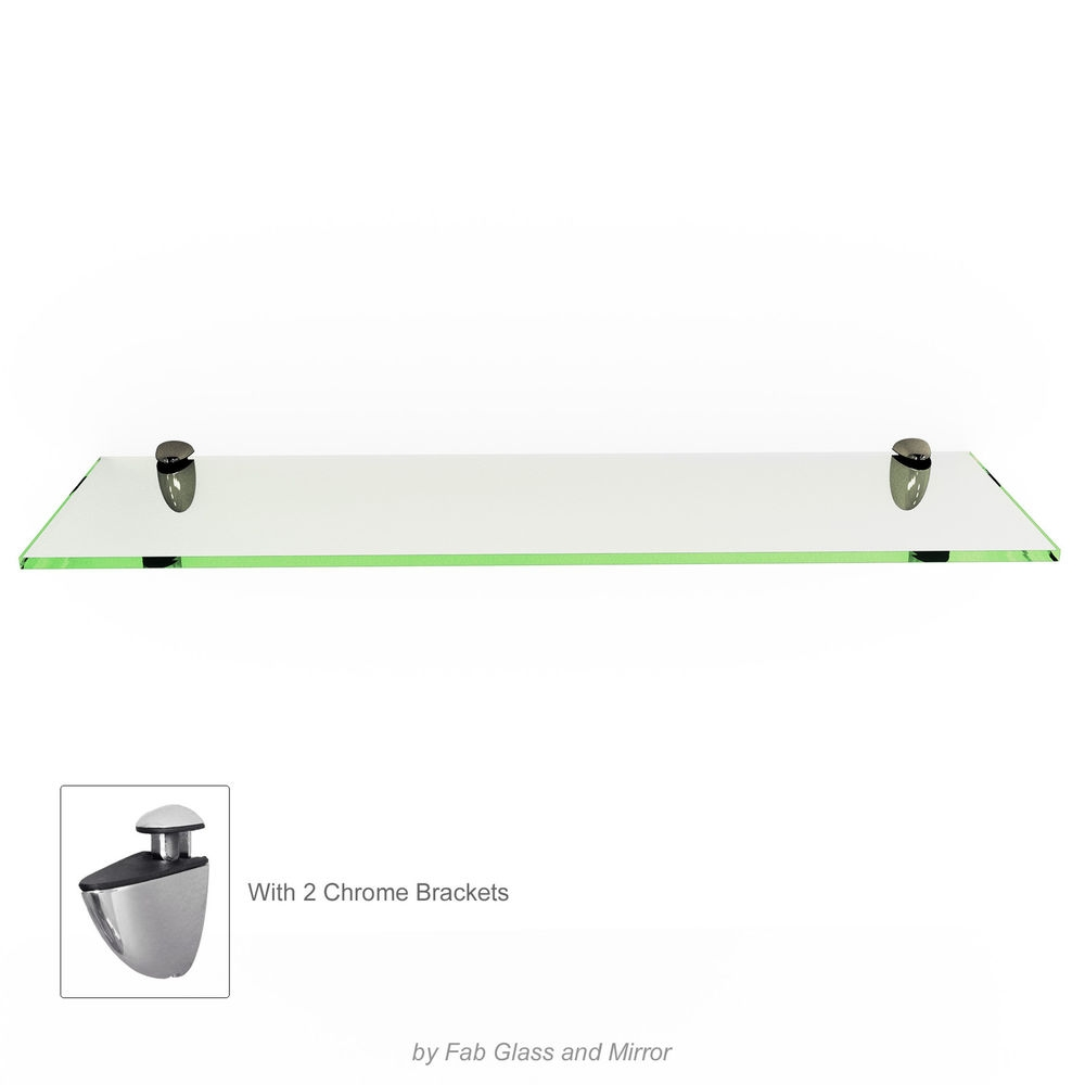 New 559 Floating Shelf Bracket Kit Floating Shelve Throughout Free Floating Glass Shelves (#12 of 12)