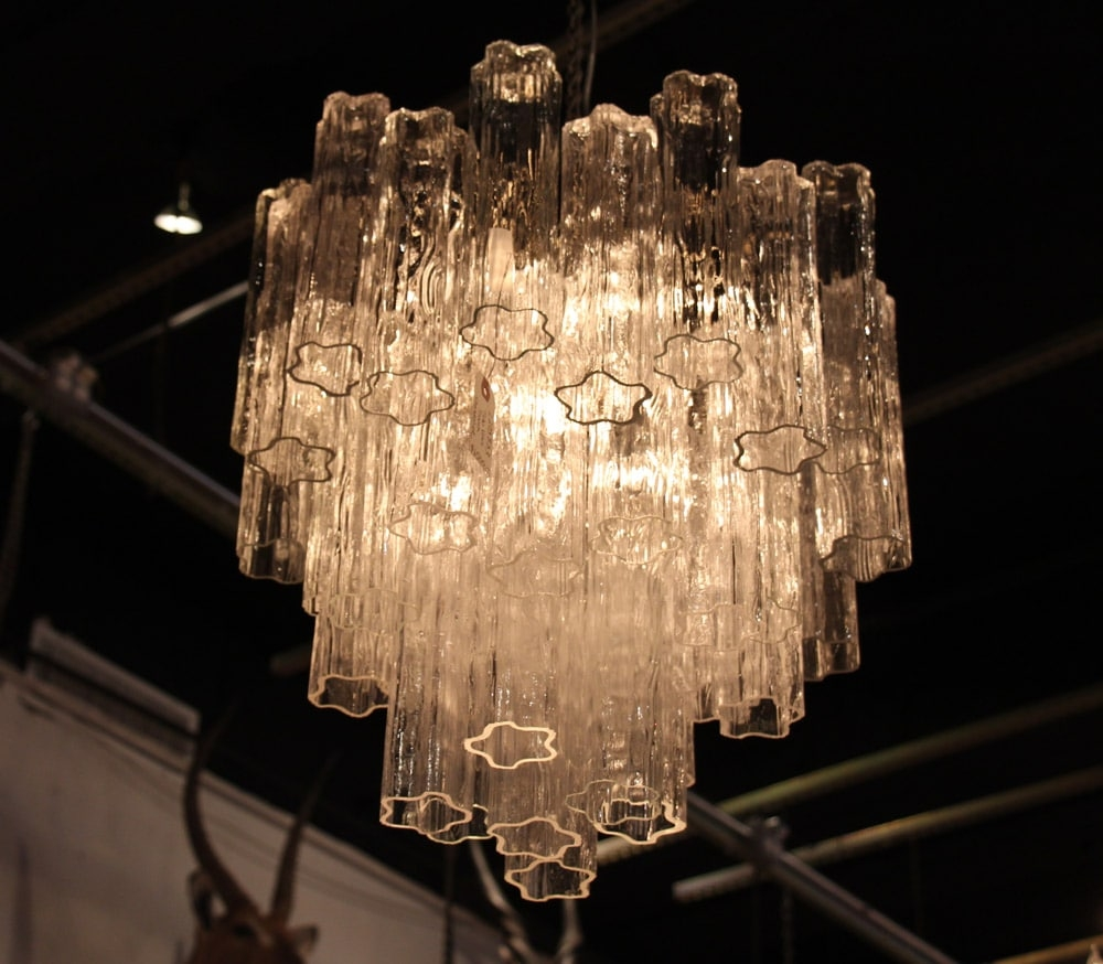 New Collection Of Mid Century Chandeliers Olde Good Things Regarding Murano Chandelier Replica (#9 of 12)
