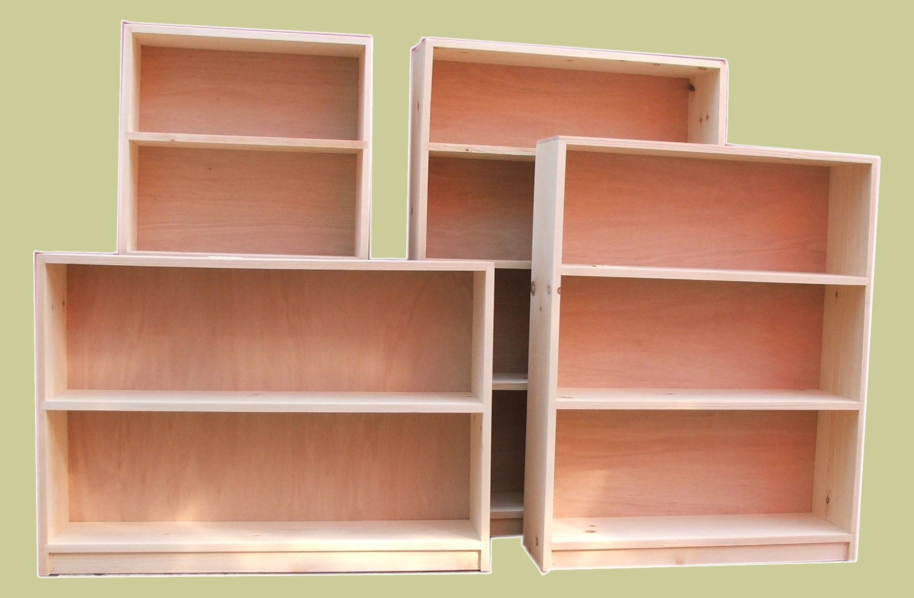 Popular Photo of Handmade Bookcases