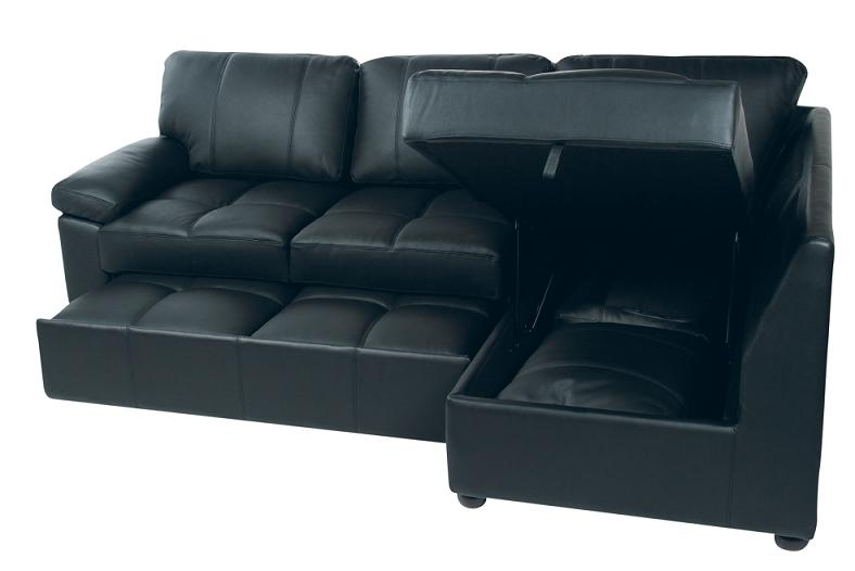 Nice Leather Sofa Bed With Storage Fernando Faux Leather Sofa Bed Within Leather Sofa Beds With Storage (#10 of 15)