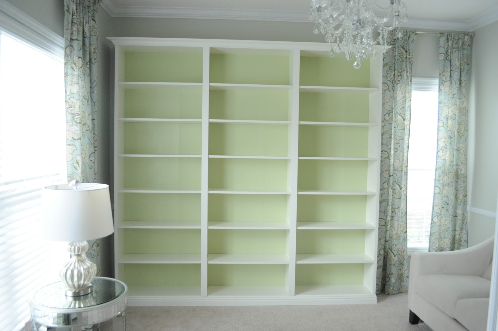 Not So Newlywed Mcgees Built In Bookshelves Pertaining To Very Tall Bookcase (#9 of 15)