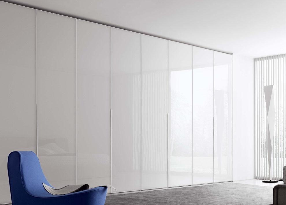 Novamobili Crystal Wardrobe With Folding Doors Fitted Wardrobes In Folding Door Wardrobes (#14 of 15)