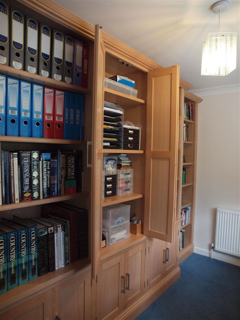 Office And Study Inside Study Bookcase (View 15 of 15)