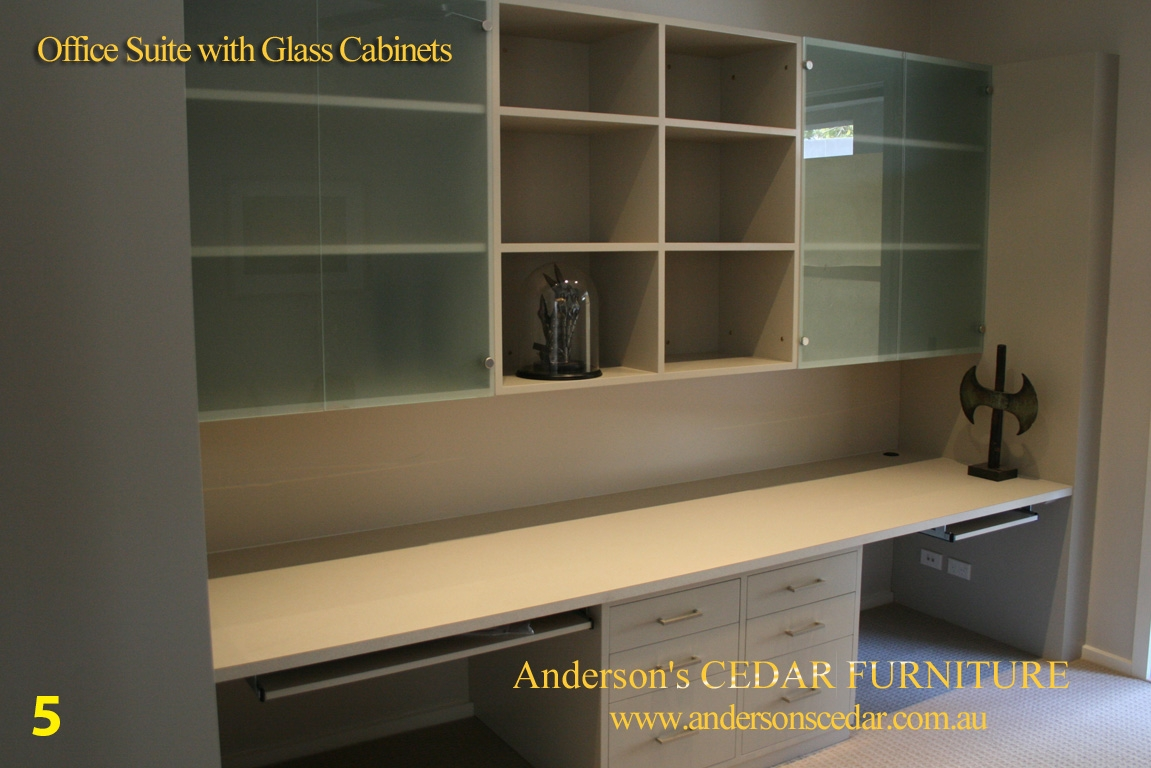 Office Furniture Hand Made Timber Furniture With Regard To Study Cupboards (Image 1 of 12)