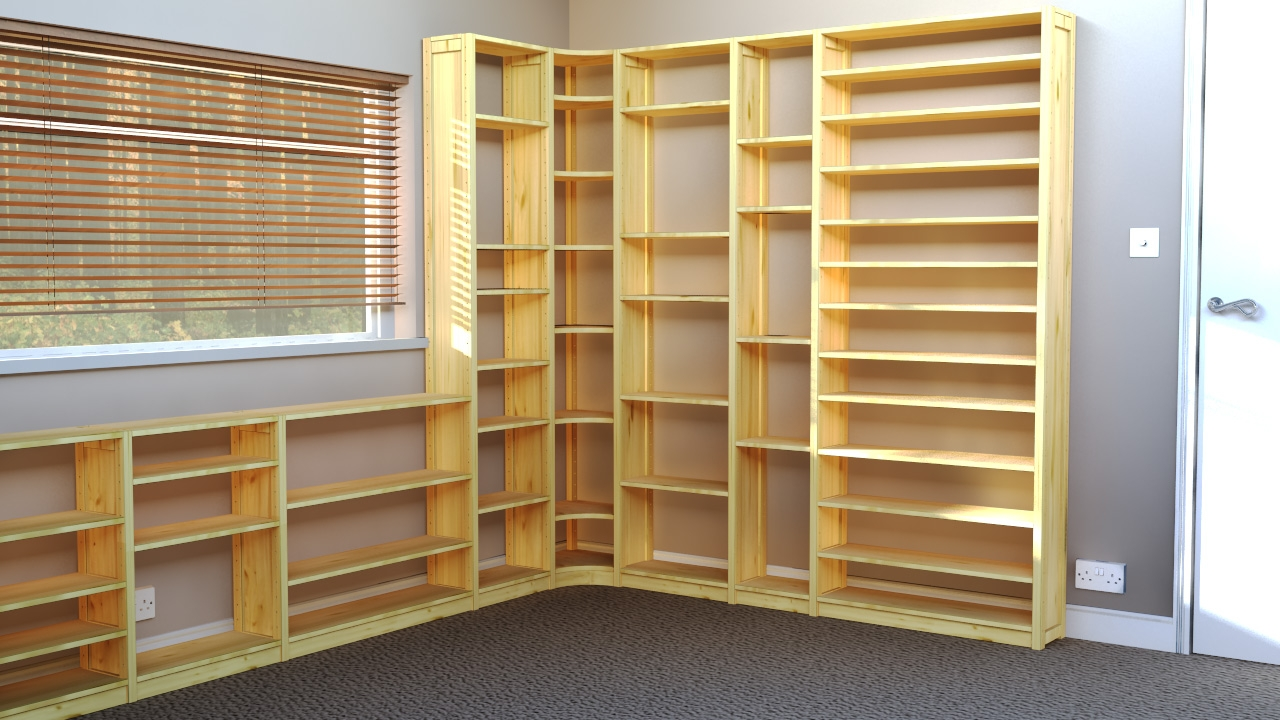 Popular Photo of Home Shelving Systems