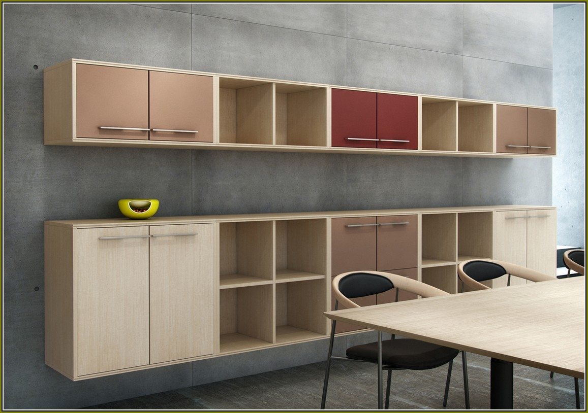 Office Wall Cabinets With Office Wall Cupboards (#7 of 12)