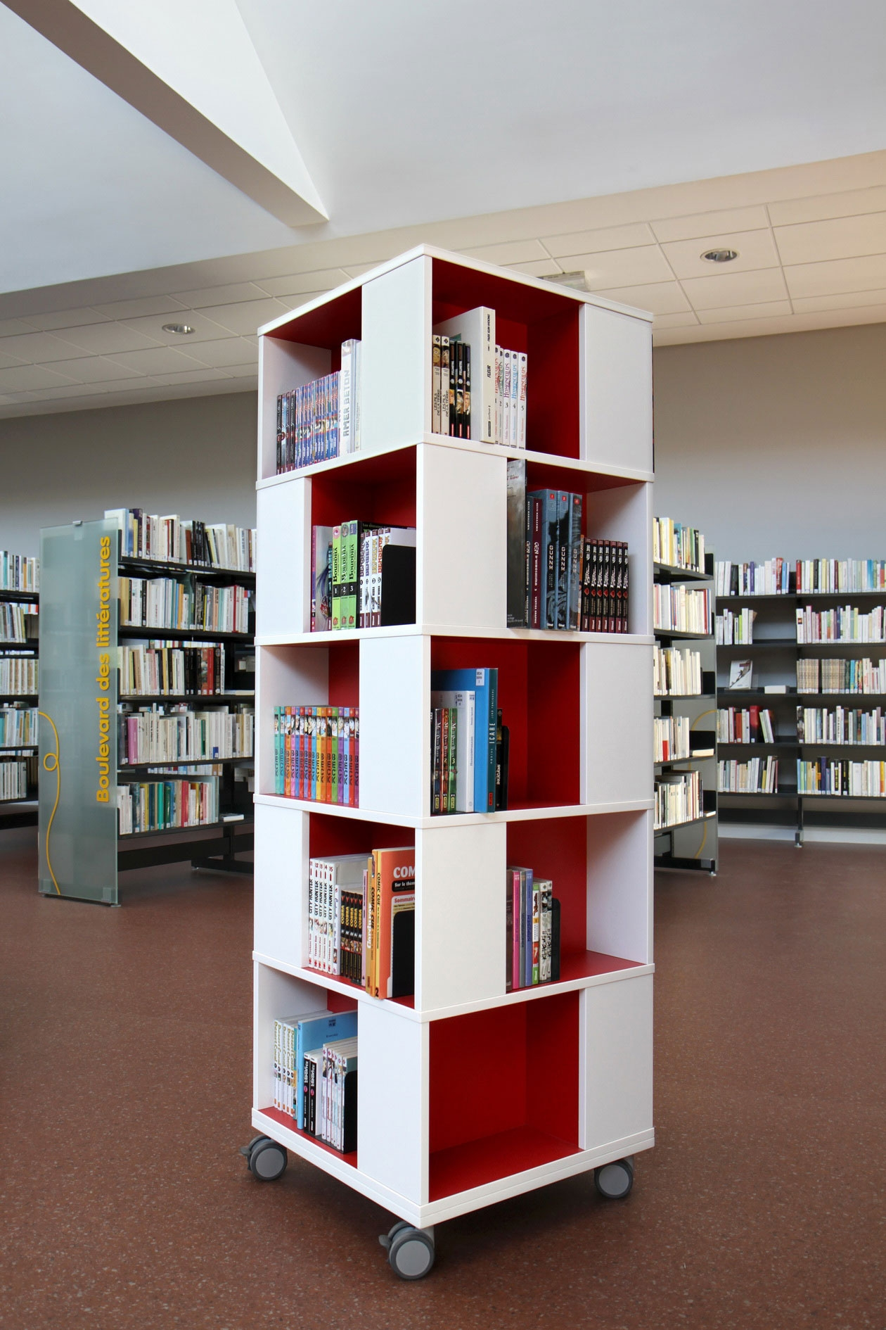 Office Workspace Interior Home Designs Category For Affordable Within Home Library Shelving System (View 12 of 15)