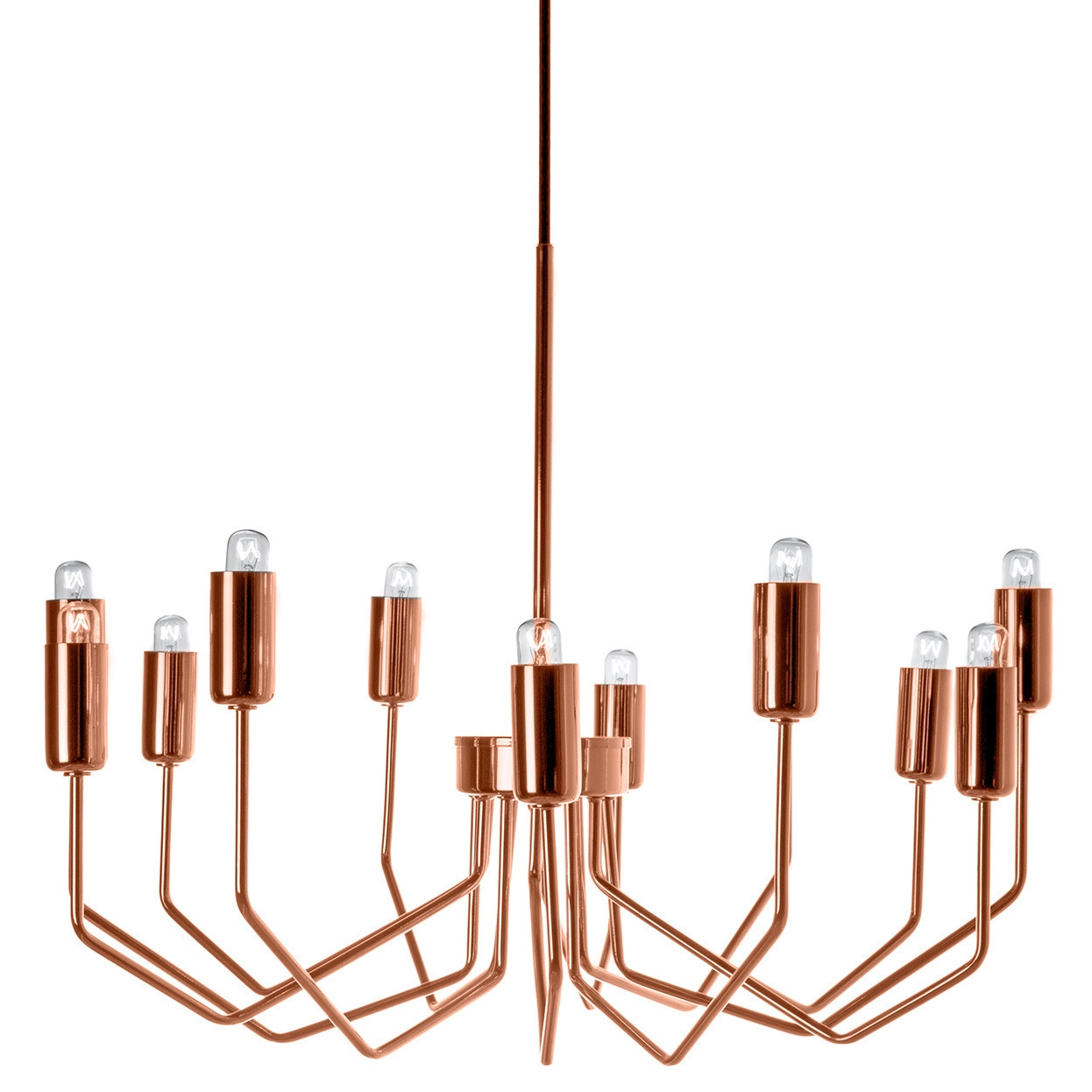 Olbia Copper Chandelier More Chandeliers Ideas In Copper Chandeliers (#11 of 12)