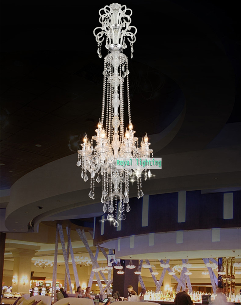 Online Buy Wholesale Long Modern Chandelier From China Long Modern Intended For Long Hanging Chandeliers (#12 of 12)