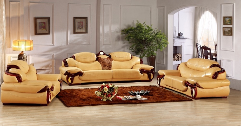 Online Get Cheap European Leather Sofa Aliexpress Alibaba Group Regarding European Leather Sofas (#13 of 15)