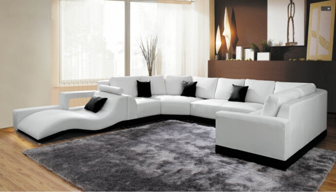 Online Get Cheap Leather Corner Sofas Aliexpress Alibaba Group Within Leather Corner Sofas (#10 of 15)