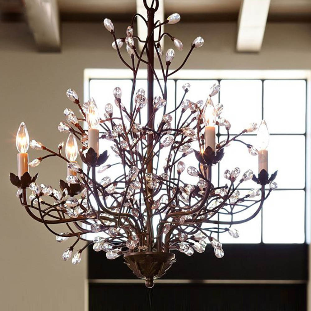 Online Get Cheap Vintage Crystal Chandelier Aliexpress Inside Chandeliers Vintage (#7 of 12)