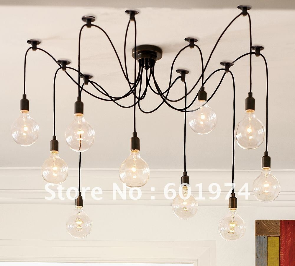 Online Shop Free Shipping Edison Chandelier Edison Light Bulb With Regard To Modern Light Chandelier (#12 of 12)