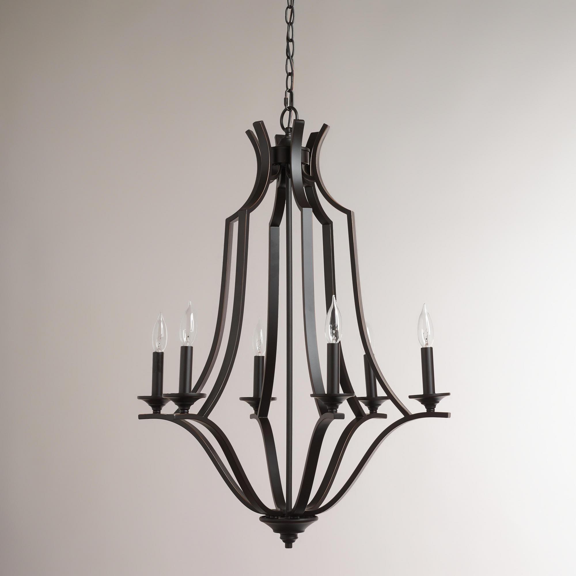 Online Shopping World Market Rardon Designrardon Design Regarding Large Iron Chandelier (#10 of 12)