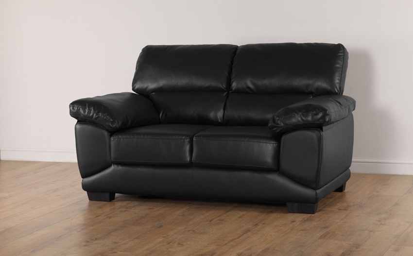 Popular Photo of Black 2 Seater Sofas