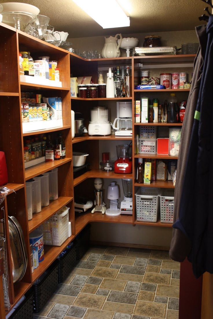 Organizer Pantry Shelving Systems For Cluttered Storage Spaces In Home Shelving Systems (#14 of 15)