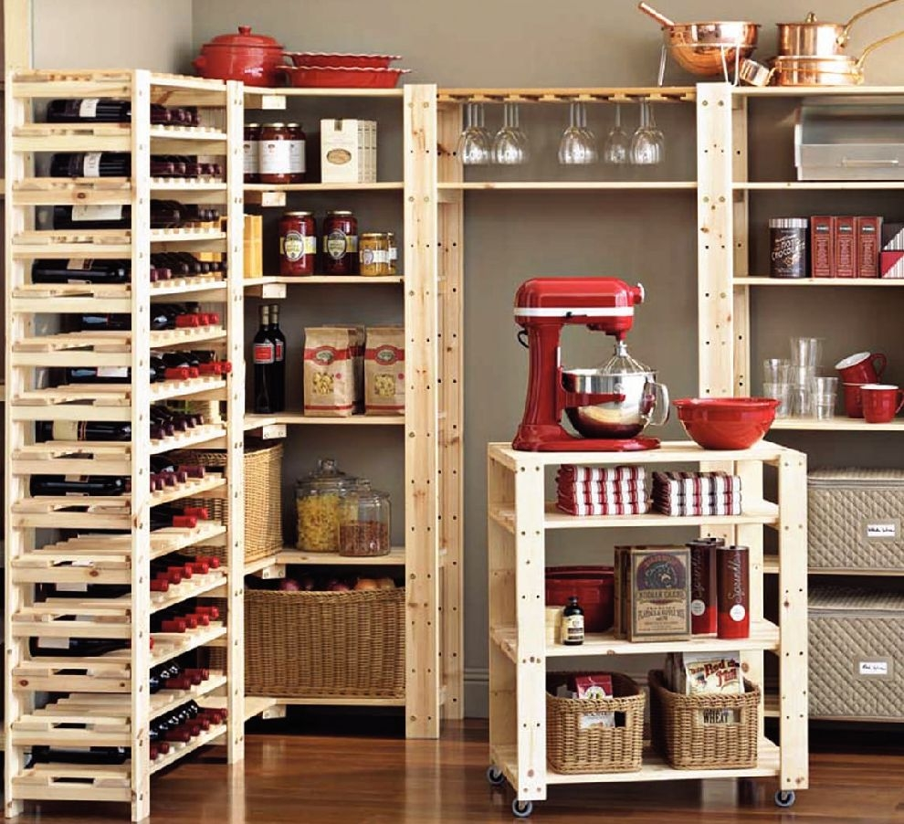 Organizer Pantry Shelving Systems For Cluttered Storage Spaces Inside Home Shelving Systems (#15 of 15)