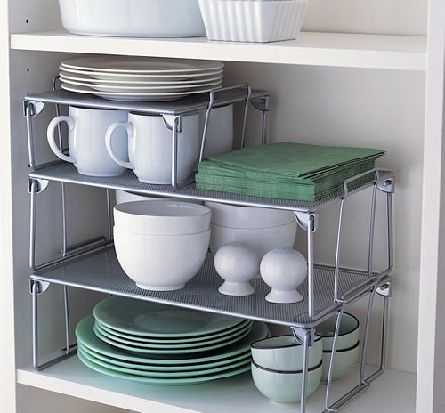 Popular Photo of Storage Racks For Kitchen Cupboards