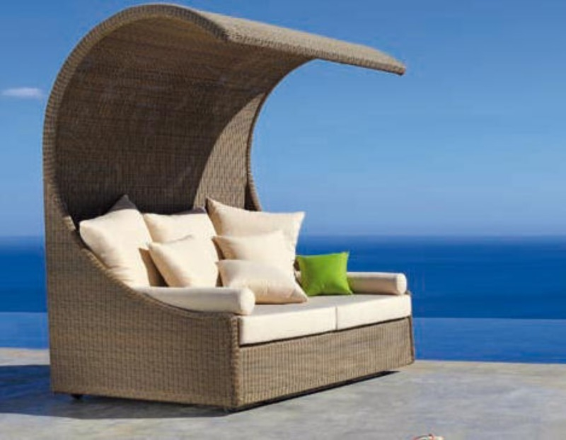 Outdoor Furniture Beliani Blog Inside Outdoor Sofas With Canopy (#11 of 15)