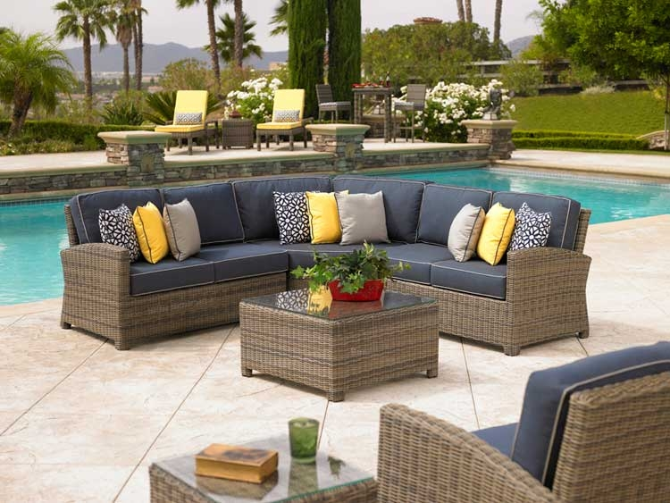 Outdoor Patio Sectional Furniture Sale Target Patio Decor With Regard To Cheap Patio Sofas (#8 of 15)