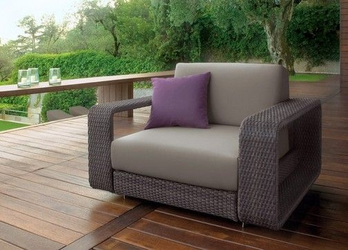 Outdoor Sofa Luxury Modern Rattan Barbados Luxury Patio Throughout Modern Rattan Sofas (#9 of 15)