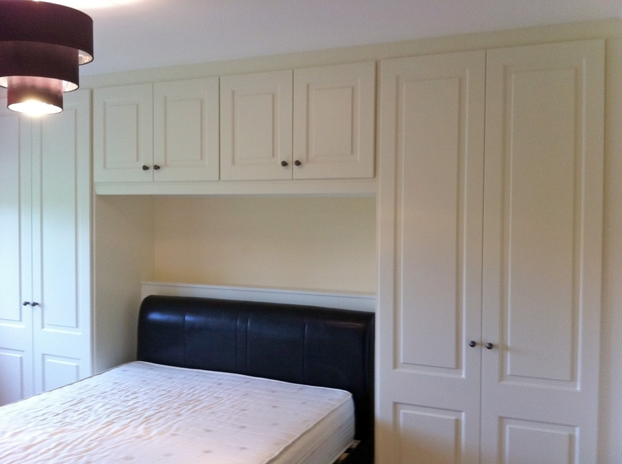 Over Bed Wardrobes Bespoke Kitchens Fitted Wardrobes Fully Inside Overbed Wardrobes (View 7 of 15)